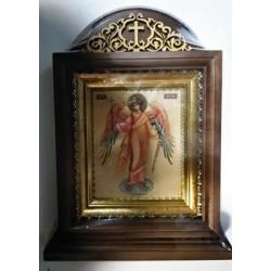 Ангел Хранитель Киот настольный 10х12