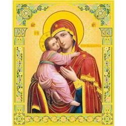 Владимирская Пресвятая Богородица 10 х 12