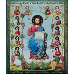 12 апостолов, (Лоза истинная) 15х18