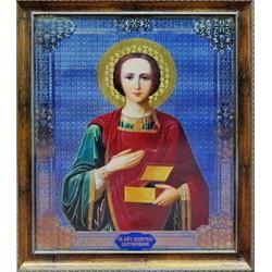Пантелеймон Икона в баг.рам. 38,5х48,5