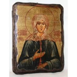 Ксения Икона  Греческая под старину 14х17