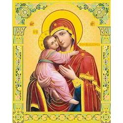Владимирская Пресвятая Богородица  15х18