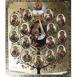 Древо Пресвятой Богородици 15х18