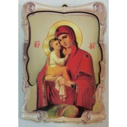 Почаевская Иконы ЗД 9х13,5