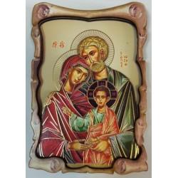 Святое Семейство Иконы ЗД 9х13,5